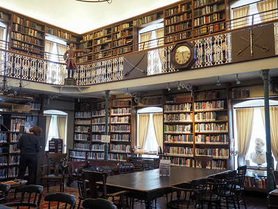 English Library at the Morrin Centre in Quebec City