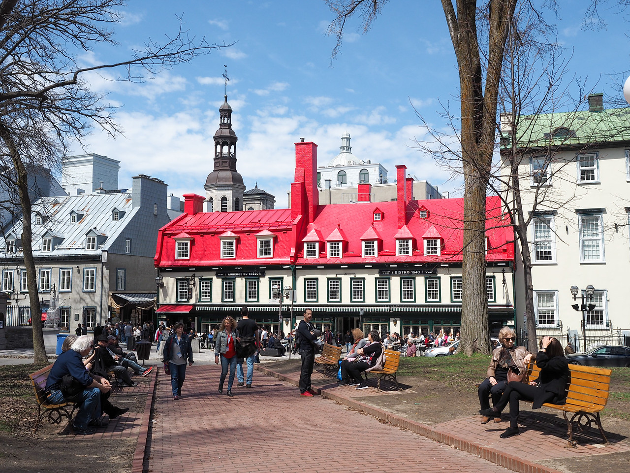 Place d'Armes in Quebec City