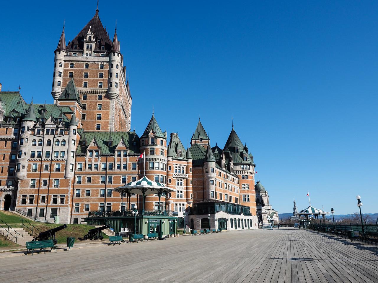 Fairmont LeChâteau Frontenac in Quebec City