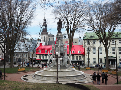 Place d'Armes in Quebec City