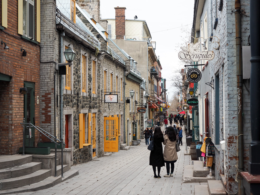 Rue du Petit-Champlain in Quebec City