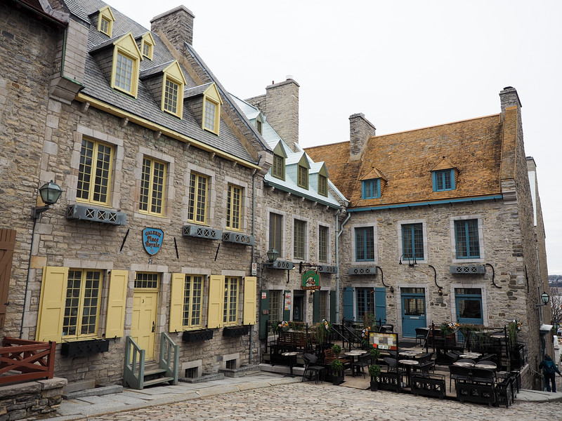 Place Royal in Quebec City, Canada