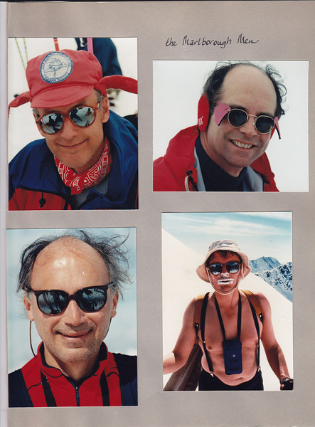 Al James, Doug Bruce, Priidu Jurand, Ted Johnson