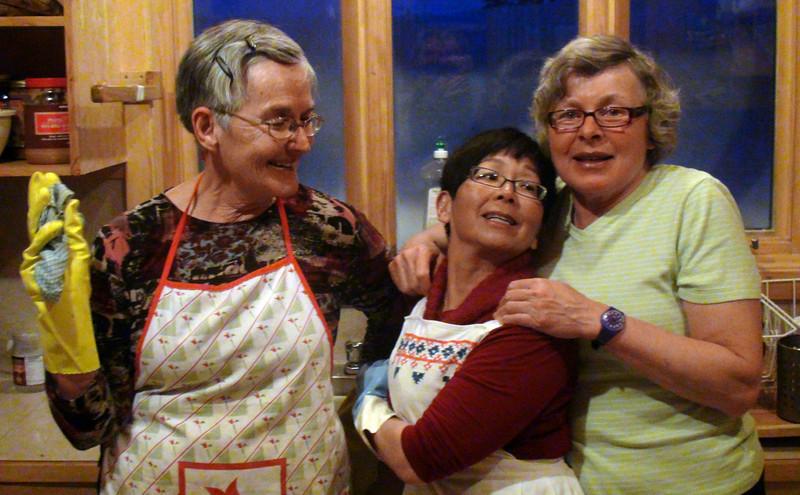 Lynne Grillmair, Corinne Frick, Barb Renner