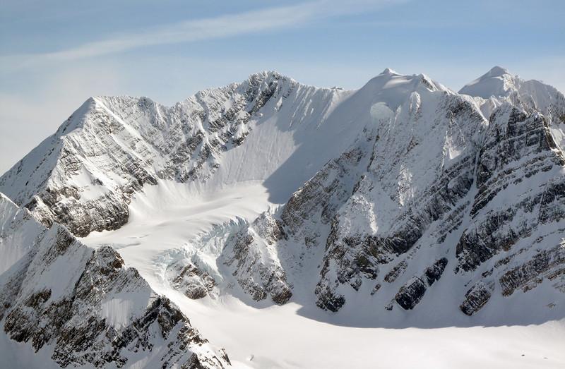 Prior Glacier to Prior Col