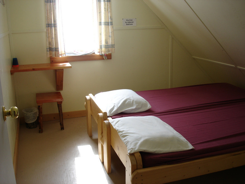 two beds on 3rd floor