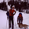 First back country outing with Bruce and Jane Dempster and Dog Fingers