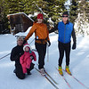 Family Paquin-Lambert at Sovereign Lake with Emily