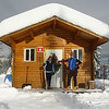 Ski to the warm up cabin for lunch - Bruce & Therese Roberts, warmheartmedia