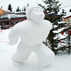 Snow Sculpture by Ginny Hall