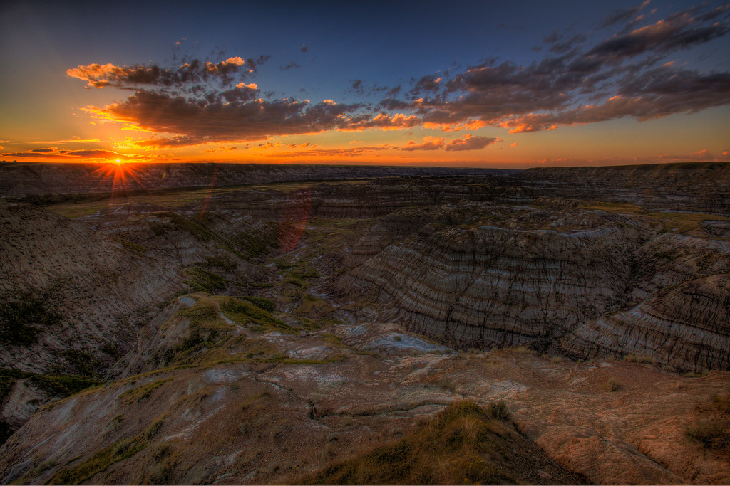 Horse Thief Canyon in Southern Alberta.