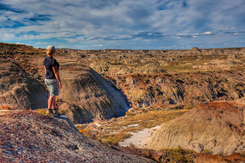 Dinosaur Provincial Park Alberta Road Trip