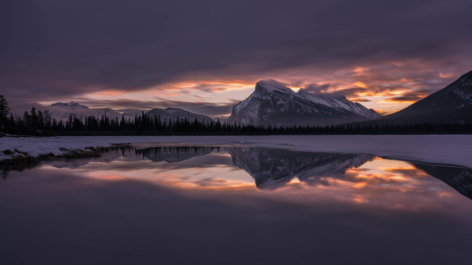 Sunrise are incredible in the Canadian Rockies