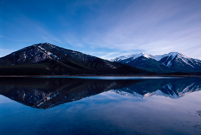 Vermillion Lakes twilight