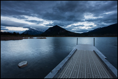 Mt Rundle, Vermilion Lakes