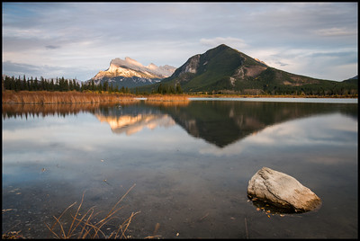 Mt Rundle, Vermilion Lakes