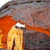 Mesa Arch sunrise #6