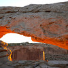 Mesa Arch sunrise #4