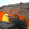 Mesa Arch sunrise #7