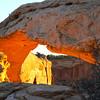 Mesa Arch sunrise #8
