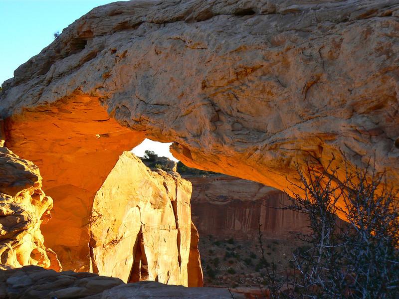 Mesa Arch sunrise #5