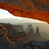 Mesa Arch sunrise #3