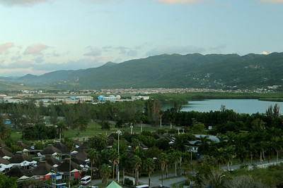 The port in Montego Bay, Jamaica