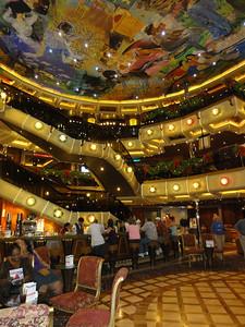 The 3 story lobby