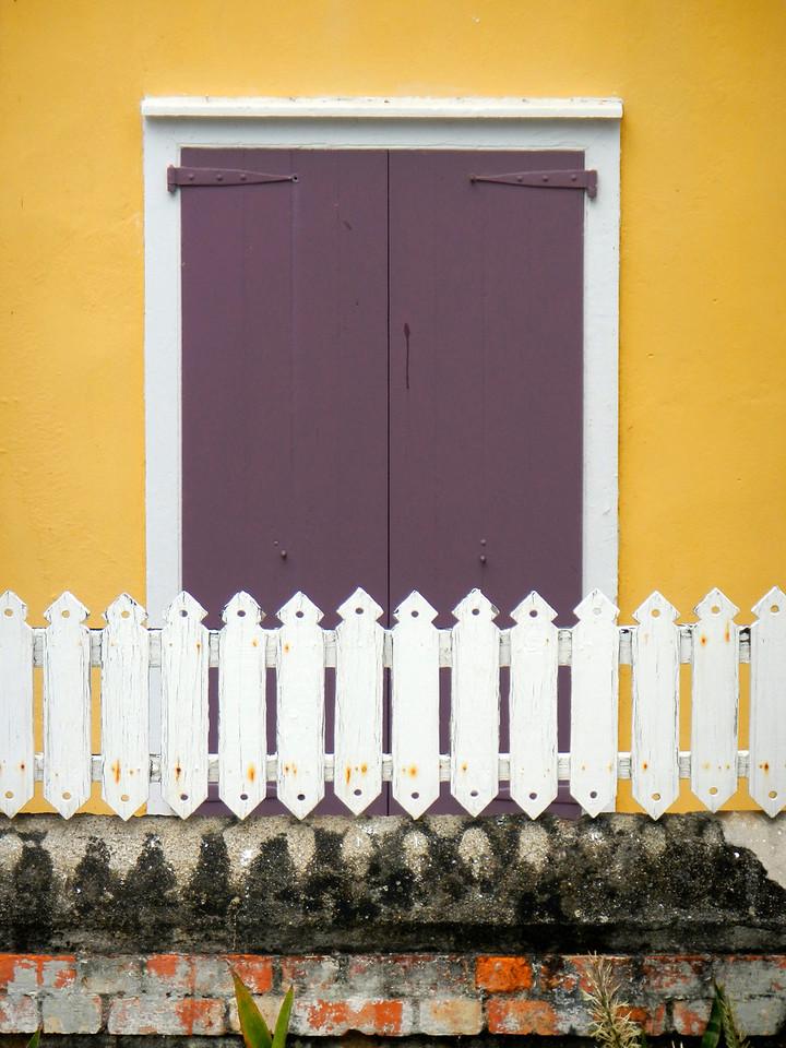 Colorful house Charlotte Amalie, St. Thomas