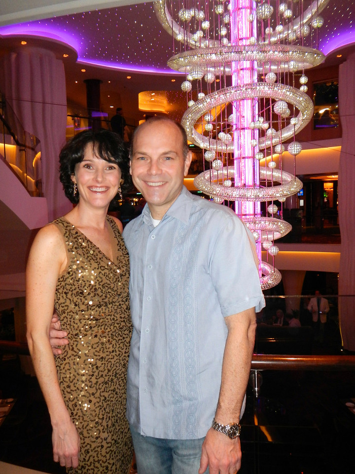 Night out on Norwegian Epic