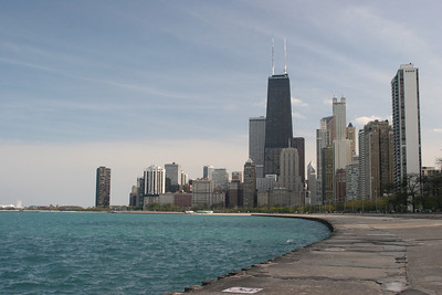 Strolling along Lake Michigan's Gold Coast!