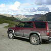 Dusty Toyota on the Alpine Loop