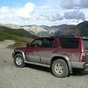 Dusty Toyota on the Alpine Loop