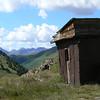 Miner's shack on the Alpine Loop