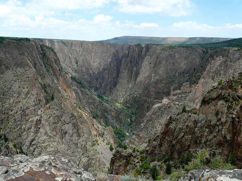 Black Canyon in Gunnison National Park, North Rim, Colorado