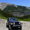 4 wheeling on Yankee Boy Basin Trail