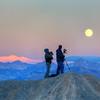 Moonrise over Dallas Divide