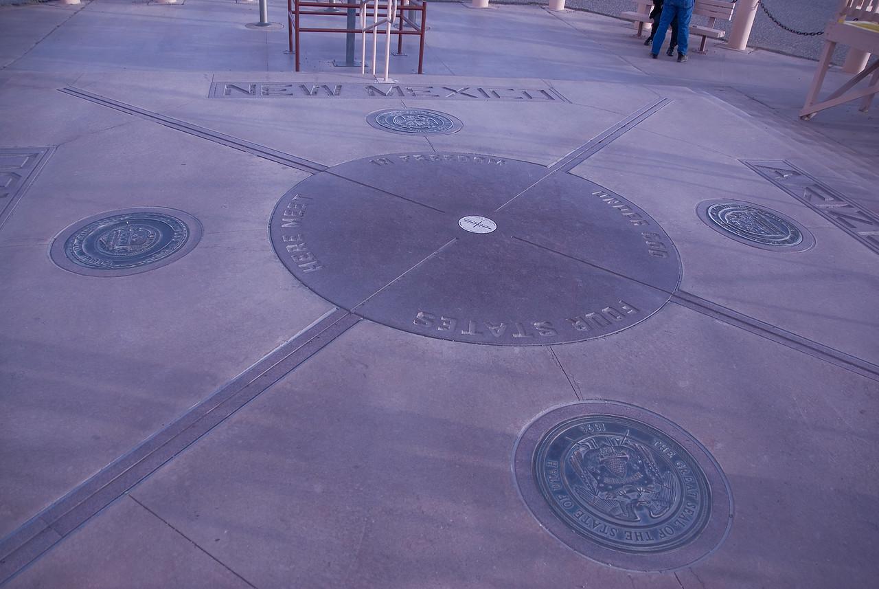 Four Corners region in Colorado, USA