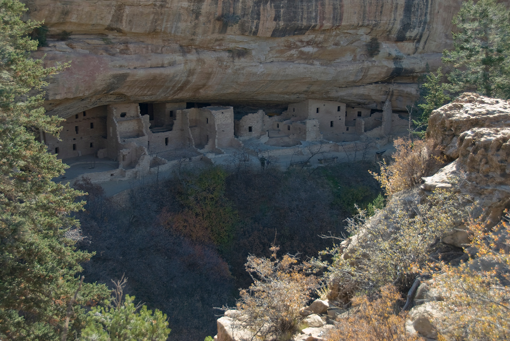 The dwellings of Mesa Verde National Park, Colorado