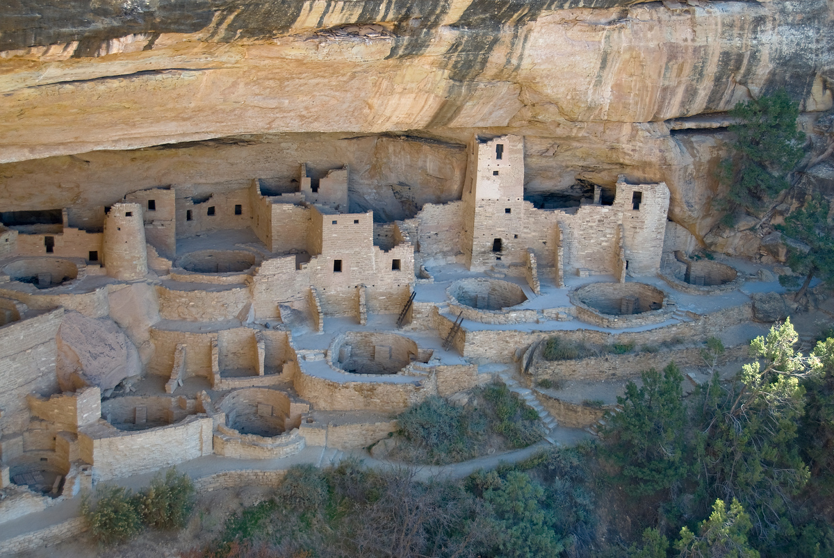 Cliff dwelling, Mesa Verde National Park, Colorado