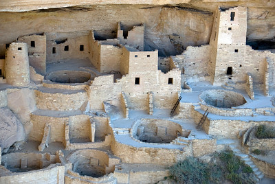 Cliff Palace in Mesa Verde, Colorado