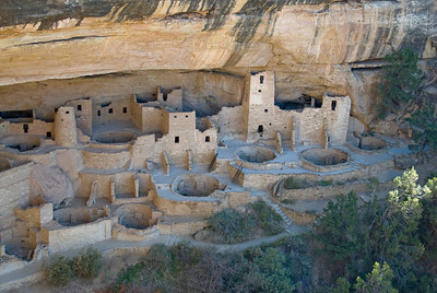Cliff Palace in Mesa Verde, California