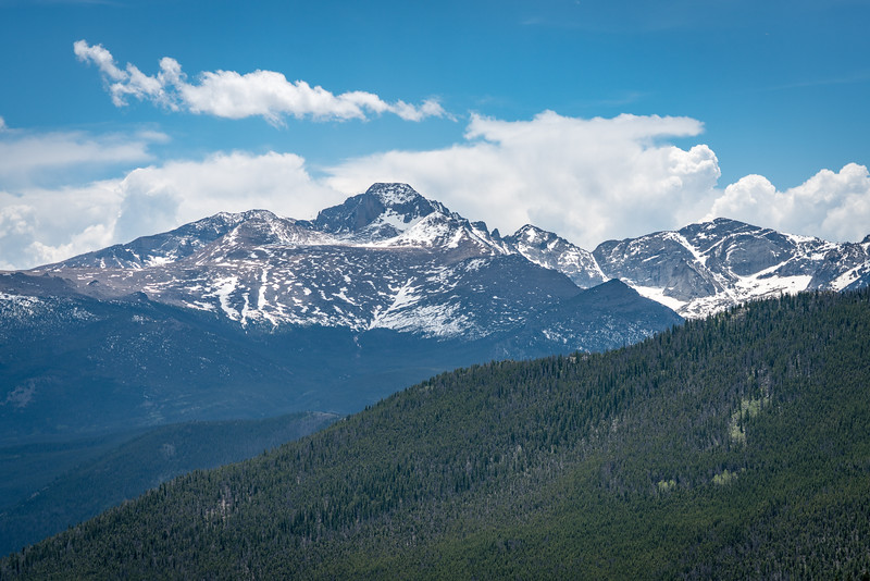 Rocky Mountains National Park Landscape