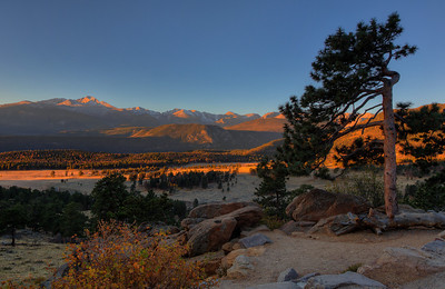 Sunrise at Rocky Mountain National Park