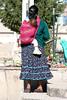 <center>Tarahumara Indian Girl with Baby     <br><br>Creel, Mexico</center>