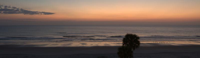 Stitched Panorama Daytona Beach