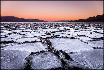 Sunrise at Badwater Basin