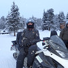 But of course the only real way to get there was by snowmobile