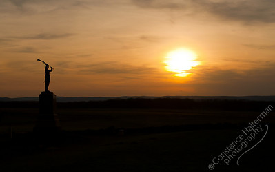 Gettysburg - sunset