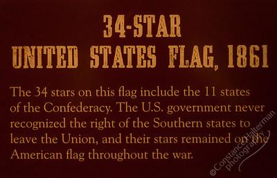 Gettysburg - 34 Star Flag